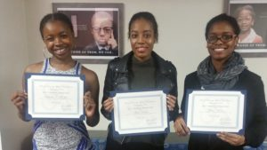 HUAC GWDC Scholarship Recipients