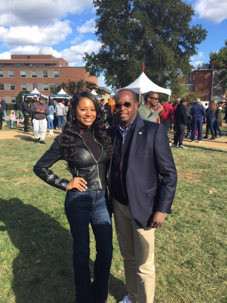 Dr. Frederick and Ms. Alexandria McDowell, Member and Miss DC USA Contestant
