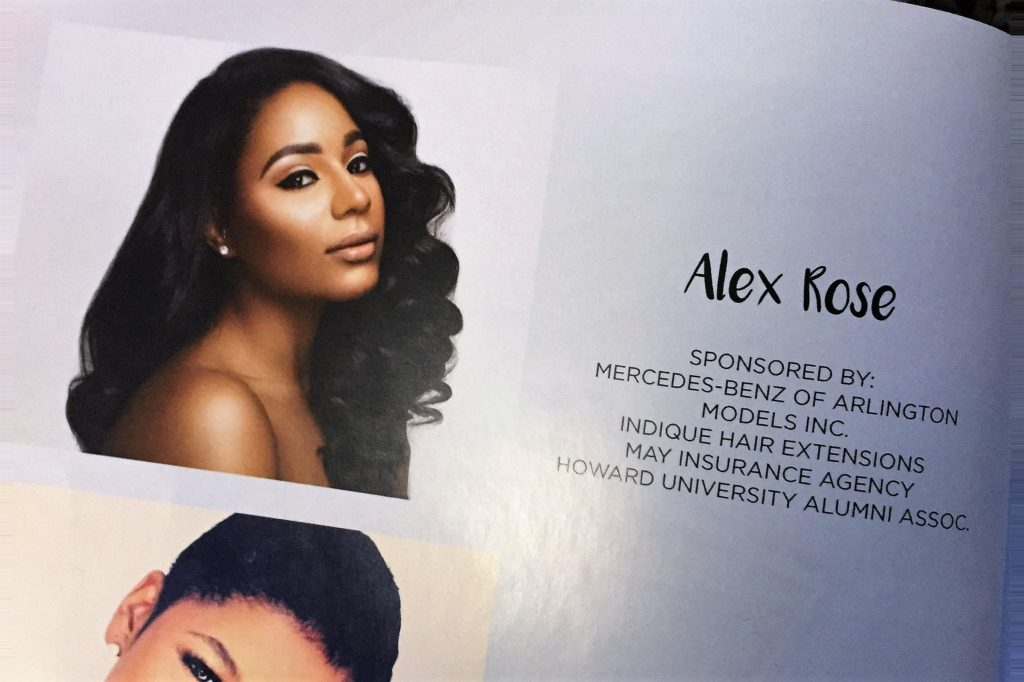 Ms. Alexandria McDowell, Member and Miss DC USA Contestant
