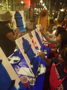 2017 HUAC GWDC Homecoming Smoke, Sip & Paint