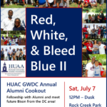 HUAC GWDC Alumni and Freshman Send Off Cookout