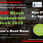 DMV Black Restaurant Week 2018