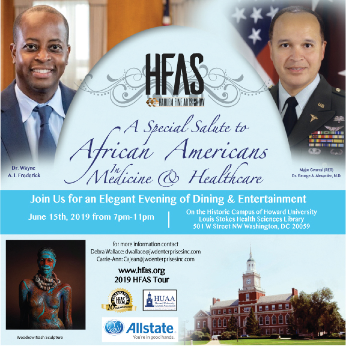 Salute to Blacks in Medicine and Healthcare