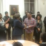 Performance by the HU Community Choir at Thanksgiving Potluck